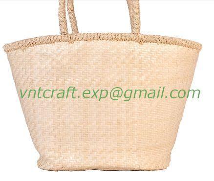 Selling palm leaf handwoven bag 1