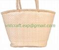 Selling palm leaf handwoven bag