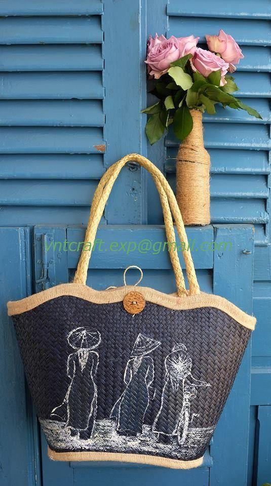 VIETNAM STRAW BAG 3