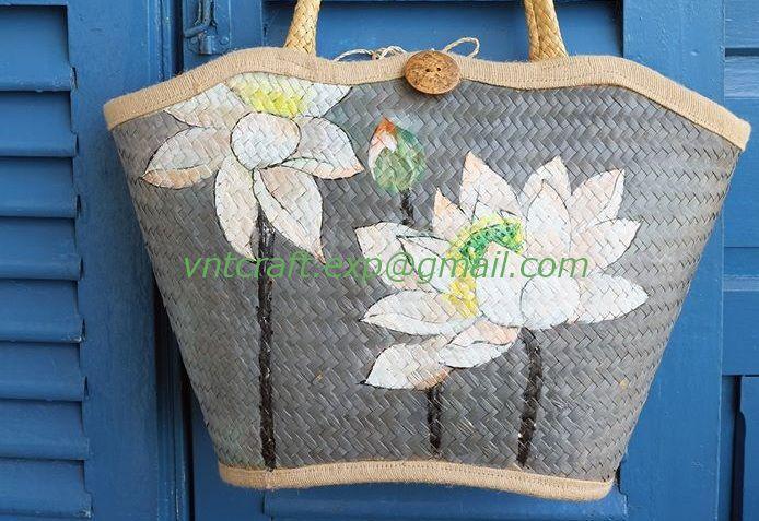 VIETNAM STRAW BAG 5