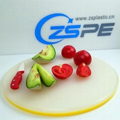 Non-slip double layer easy to carry plastic cutting board