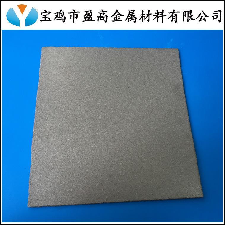 多孔钛发泡板 2