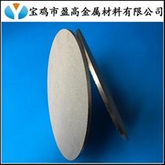 工业废水中臭氧扩散多孔钛板