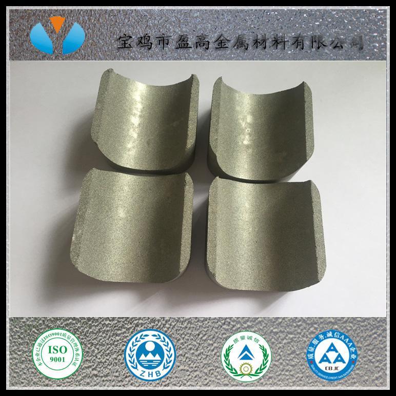 鼓泡專用高效透氣粉末燒結多孔鈦板 1