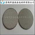 制药设备用钛棒不锈钢粉末烧结滤芯 4