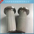 製藥設備用鈦棒不鏽鋼粉末燒結濾芯 5