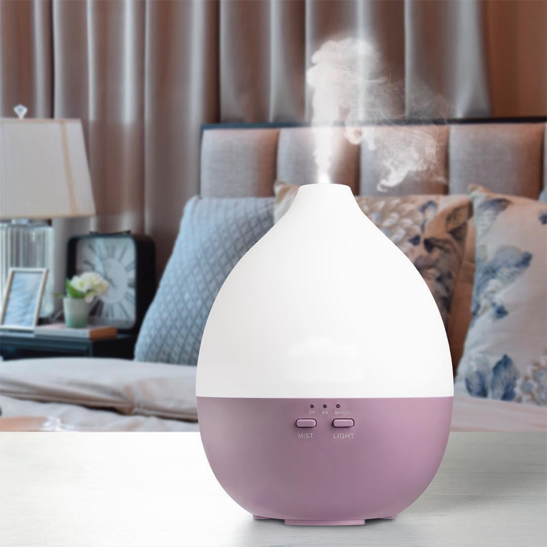 Ultrasonic aroma diffuser air humidifier portable essential oil diffuser 4