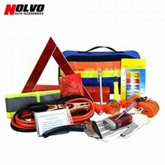 24pcs Car Roadside Emergency Kit Auto Safety Kit
