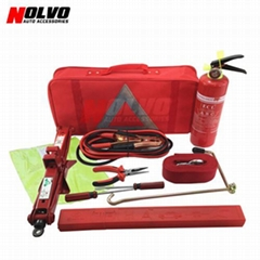 12pcs Car Roadside Emergency Tool Kit Auto Safety Kit