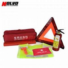 7pcs Car Roadside Emergency Tool Kit Auto Safety Kit