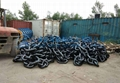Black coated 114mm Anchor Chain With ABS
