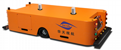 Huatian Automated Guided Vehicles Magnetic Tape Guidance Agv