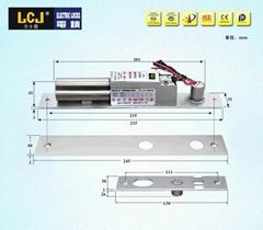 LCJ力士堅電插鎖EC235單門暗裝型