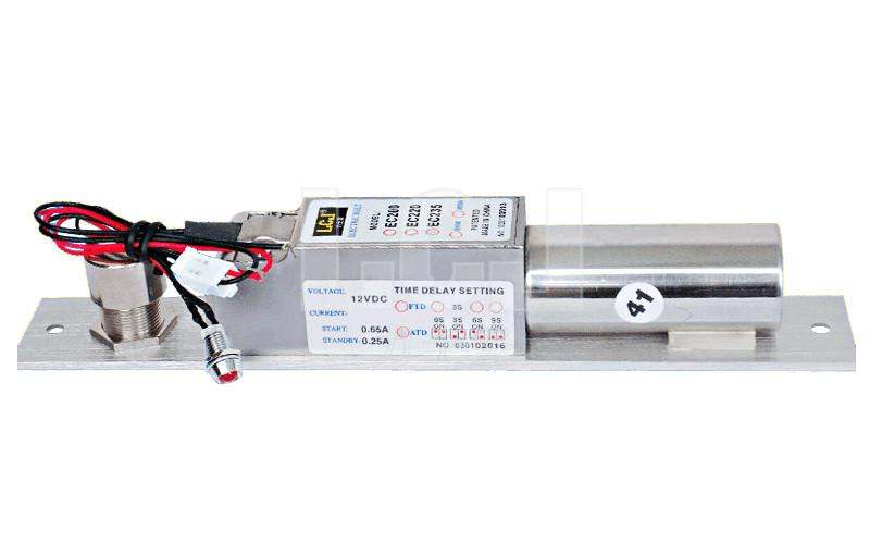LCJ力士堅電插鎖EC235單門暗裝型 3