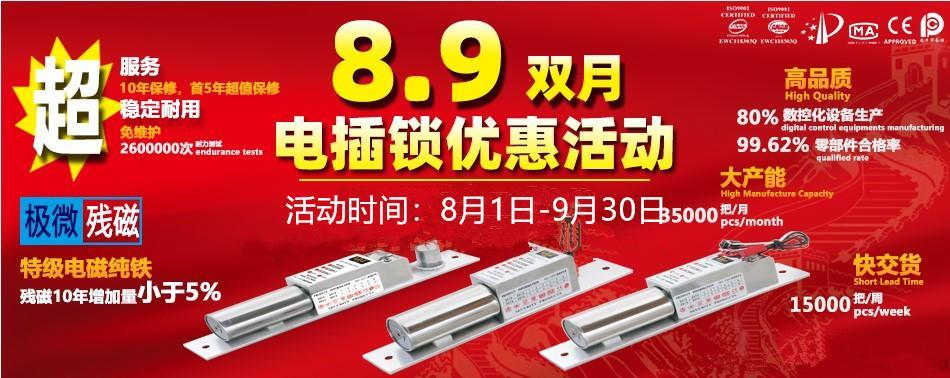 成都力士堅電插鎖雙月優惠活動電插鎖EC200-1 5