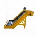 Steel Hinged Belt Chips Conveyor