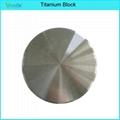 Titanium blank Gr.2 and Gr.5 for dental