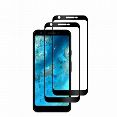 2.5D full cover full glue tempered glass screen protector for Google 3A