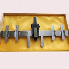 數顯轍叉磨耗檢測尺使用方法