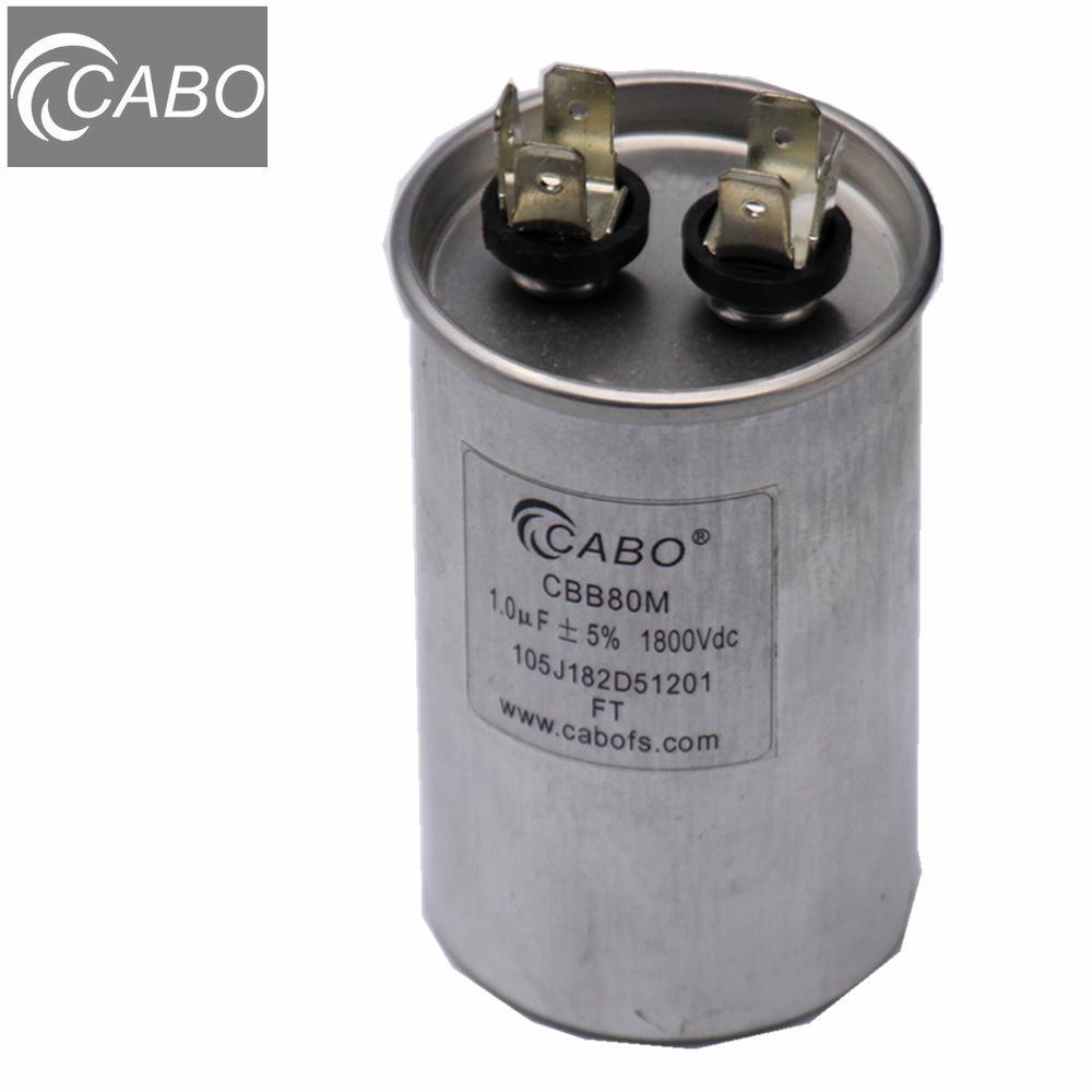 CBB80 series lighting fixture capacitor for light power compensation 1