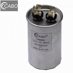 CBB80 series lighting fixture capacitor for light power compensation