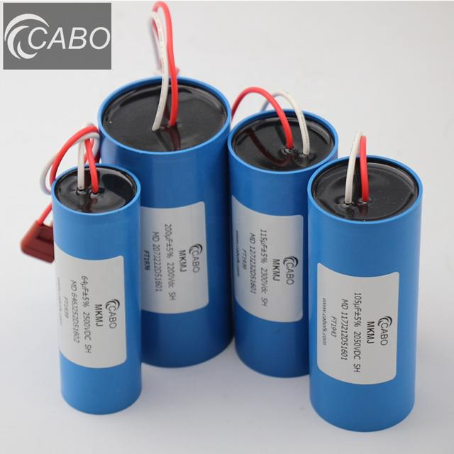 CABO MKMJ-MD series AED capacitors for medical devices components of cardiac def 1