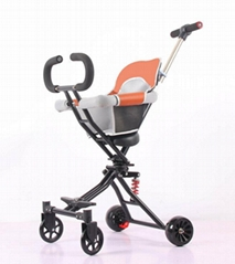 China Portable Baby Walker One Key Foldable