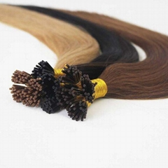 Keratin Human Hair Extensions 100% True Remy Quality Full Cuticle Extensions