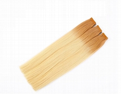 Ombre Double Drawn Remy Tape in Hair Extensions 100% True Real Virgin Remy