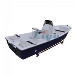 Liya 5.8m/19ft fiberglass fishing boat panga