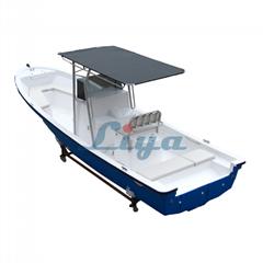 Liya 7.6m/25ft fiberglass fishing boat panga