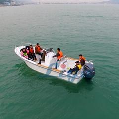 Liya 6.6m/21.6ft fiberglass fishing boat panga