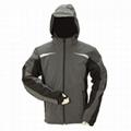 Heated ski jacket