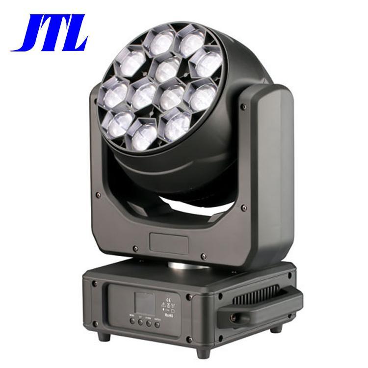 盈立萊JTL12顆40WLED調焦染色搖頭舞臺演出燈 1