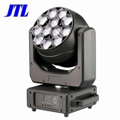 盈立萊JTL12顆40WLED調焦染色搖頭舞臺演出燈