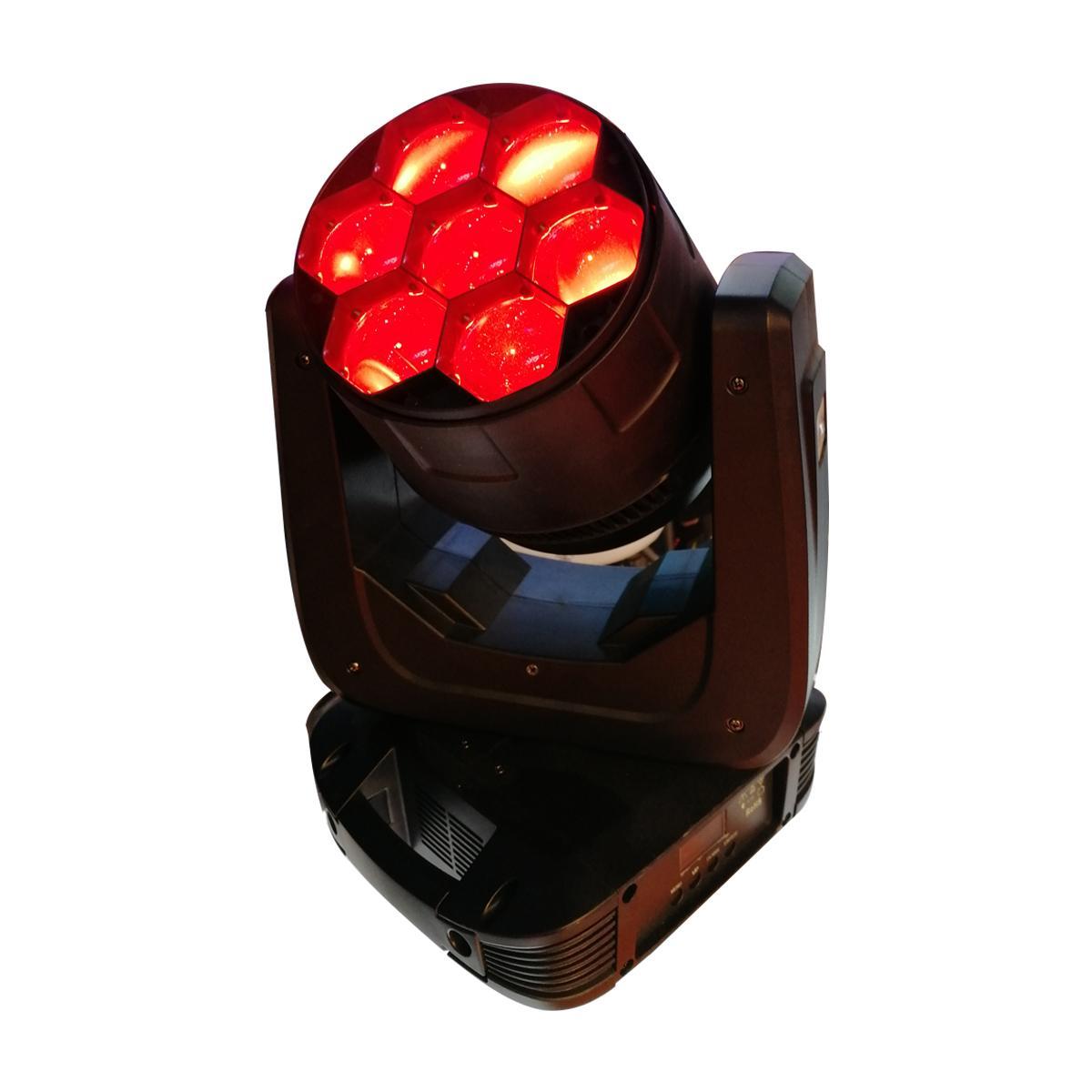 盈立萊JTL7顆40W RGBW調焦搖頭舞臺燈大型酒吧夜場燈 4