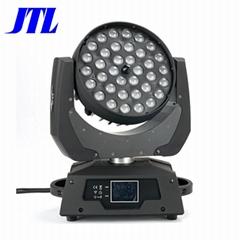 盈立萊JTL 36顆12WLED舞臺搖頭染色燈