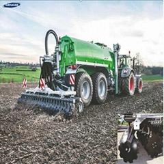 Agriculture manure fertilizer spreader slurry tanker