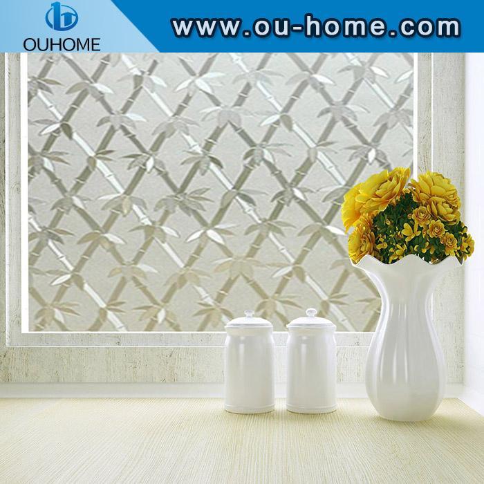 BT6201 PVC bamboo sparkling glass window film 1