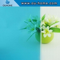BT107 PVC Non-pollution Glass Film Tinting Frosted Decorative Privacy Window Fil