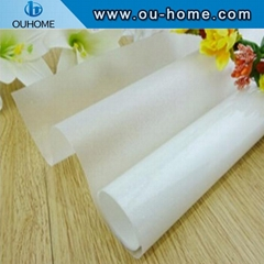 BT902 Multi-function White Frosted PVC Window Tint Glass Film PVC Decorative Win
