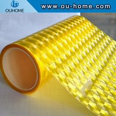 BT920 Self Adhesive 3D Cat Eyes PVC Cold Lamination Film