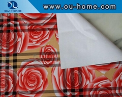 TH220900-005 Rose printed fabric tablecloths
