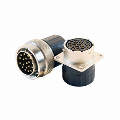新能源电机控制器接口连接器 2-61芯低压信号防水插头插座