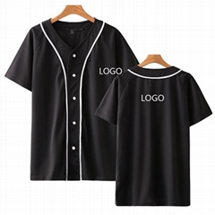 High Quality custom  blank baseball jerseys dri fit  baseball uniforms