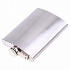china manufacturer cheap stainless steel liquor hip flask