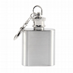 cheap wholesale 1oz mini hip flask for promotion