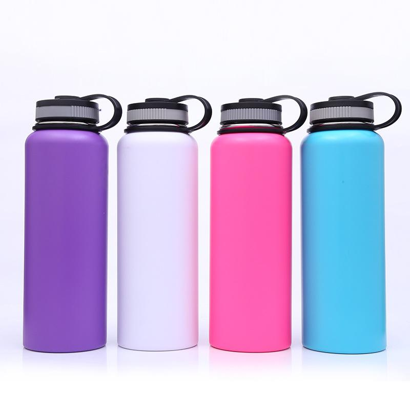 Wholesale 500ml 750ml 100ml hydro double wall vacuum flask insulated stainless s 1