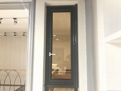 Aluminium Casement Windows with Tempered Glass from Chinese Window Supplier
