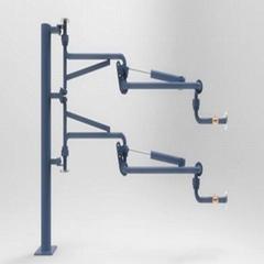 液化氣頂部裝卸鶴管    液氯裝卸鶴管 充裝臂